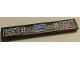 Part No: 6636pb145  Name: Tile 1 x 6 with Airplane Controls Pattern (Sticker) - Set 8068