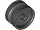 Part No: 66727  Name: Wheel 18mm D. x 12mm with Pin Hole and Stud, Dotted Brake Rotor Lines