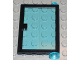 Part No: 73435c02  Name: Door 1 x 4 x 5 Right with Trans-Light Blue Glass