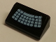 Part No: 85984pb126  Name: Slope 30 1 x 2 x 2/3 with Curved Keyboard Pattern (Sticker) - Set 76018