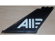 Part No: 87614pb001  Name: Tail 12 x 2 x 5 with 'A113' Pattern on Both Sides (Stickers) - Set 8638