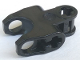 Part No: 89652  Name: Technic, Axle Connector 2 x 3 with Ball Socket, Closed Sides, Squared Ends, Open Lower Axle Holes