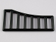 Part No: 95229  Name: Bar 1 x 8 x 3 - 1 x 8 x 4 Grille Curved