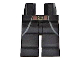 Part No: 970c00pb0286  Name: Hips and Legs with Brown Belt with Gold Buckle and Coattails Outline Pattern