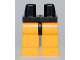 Part No: 970c110  Name: Minifigure, Legs with Hips - Bright Light Orange Legs