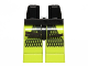 Part No: 970c34pb02  Name: Hips and Lime Legs with Black Mesh Pattern (SW Oola)