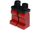 Part No: 970c59  Name: Minifigure, Legs with Hips - Dark Red Legs