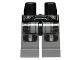 Part No: 970c85pb06  Name: Hips and Dark Bluish Gray Legs with SW Darth Malgus Armor Pattern