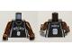 Part No: 973bpb153c01  Name: Torso NBA San Antonio Spurs #9 Pattern / Brown NBA Arms