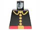 Part No: 973p21  Name: Torso Fire Uniform Five Button Pattern