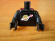 Part No: 973pb0067c04  Name: Torso Space Classic Moon Pattern (Sticker) / Black Arms / Black Hands