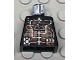 Part No: 973pb0198  Name: Torso Space Insectoids Droid Silver and Copper Circuitry Pattern