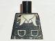 Part No: 973pb0256  Name: Torso Town Vest with Pockets, White Shirt Collar Pattern (Sticker)
