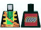 Part No: 973pb0678  Name: Torso Pirate Captain Pattern with LEGO Logo on Back