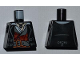 Part No: 973pb0872  Name: Torso PotC Topcoat with Red and Gold Vest and Dark Bluish Gray Belt Pattern