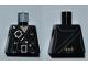 Part No: 973pb0879  Name: Torso PotC Overcoat with Belts and Gold Fleur de Lis Buckles Pattern