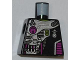 Part No: 973pb0902  Name: Torso Alien Conquest Alien Diagonal Armor Pattern