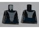 Part No: 973pb0949  Name: Torso SW Light Bluish Gray Armor Bib Pattern (Asajj Ventress 7957)