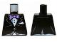 Part No: 973pb1464  Name: Torso Batman Jacket Formal with Lavender Bow Tie Pattern