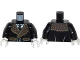 Part No: 973pb1646c01  Name: Torso Batman Coat with Brown Fur Trim, White Shirt and Black Tie Pattern / Black Arms / White Hands