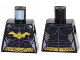 Part No: 973pb1649  Name: Torso Batman Female Logo with Body Armor and Gold Belt Pattern