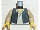 Part No: 973ps5c01  Name: Torso SW Vest and White Shirt Pattern (Han Solo) / Tan Arms / Yellow Hands