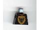 Part No: 973px120  Name: Torso Castle Knights Kingdom Bull's Head on Brown Shield Pattern