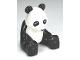 Part No: 98232c01pb01  Name: Duplo Panda, Sitting