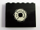 Part No: BA015pb02  Name: Stickered Assembly 6 x 1 x 4 with Life Preserver with 'U.S. COAST GUARD' Pattern (Sticker) - Set 575 - 4 Bricks 1 x 6