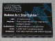 Part No: BA044pb01  Name: Stickered Assembly 6 x 8 x 2/3 with Naboo N-1 Starfighter Data Pattern (Sticker) - Set 10026 - 1 Plate 6 x 8, 8 Tiles 1 x 6