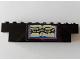 Part No: BA085pb01  Name: Stickered Assembly 10 x 1 x 2 with Sheet Music Pattern (Sticker) - Set 293 - 1 Brick 1 x 8, 1 Brick 1 x 6, 1 Brick 1 x 4