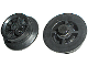Part No: bb0012v2  Name: Train Wheel, Middle Wheel for 12V Motor