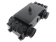 Part No: bb0012vc  Name: Electric, Train Motor 12V with Wheels Type III with 3 Slotted Contact Holes