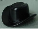 Part No: bb0015b  Name: Homemaker Figure Headgear Cowboy Hat