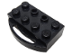 Part No: bb0036  Name: Train Brick 2 x 4 with Holder for Sliding Wheel Block