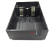 Part No: bb0045d  Name: Electric 4.5V Battery Box 6 x 11 x 3 Type II, Bottom with Red Dot Pattern