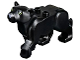 Part No: bb0787c01pb01  Name: Cat, Large (Panther) with Lime Eyes and Dark Bluish Gray Nose Pattern