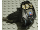 Part No: gal70  Name: Galidor Head Gorm, with 1 Pin with Gold Pattern