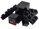 Part No: minespider01  Name: Minecraft Spider - Brick Built