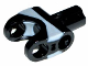 Part No: x1192px1  Name: Technic, Axle Connector 2 x 3 with Ball Socket and Axle Socket with Light Bluish Gray Rubber Insert