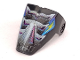 Part No: x209pb05  Name: Technic Throwbot Visor with Spark Pattern
