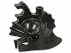 Part No: x43  Name: Minifigure, Headgear Helmet Castle with Dragon Crown Top