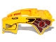 Part No: 11110pb04  Name: Flywheel Fairing Lion Shape with Gold and Dark Red Pattern (70115)
