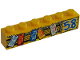 Part No: 3009pb204  Name: Brick 1 x 6 with '58' and Hanging License Plates Pattern