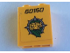 Part No: 3245cpb141  Name: Brick 1 x 2 x 2 with Inside Stud Holder with '60160' and Leopard Head Pattern (Sticker) - Set 60160