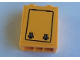 Part No: 3245cpb142  Name: Brick 1 x 2 x 2 with Inside Stud Holder with Door Hatch Pattern (Sticker) - Set 60160