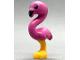 Part No: 67430pb01  Name: Bird, Flamingo Friends with Dark Pink Body, Black Eyes and Beak Pattern