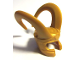 Part No: 10909  Name: Minifigure, Headgear Helmet with Large Curved Flexible Horns (Loki)
