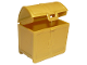 Part No: 11249  Name: Duplo Treasure Chest Opening 2 x 3 x 3 with Detailed Lid Ends