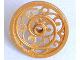 Part No: 15744  Name: Wheel Wagon Huge (43mm D.) Ornamental